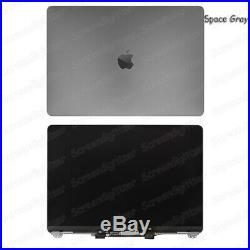 13.3 Gray MacBook Pro A1706 A1708 2016 Mid 2017 Retina LCD Screen Replacement