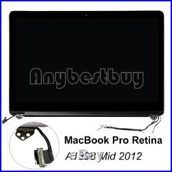 15.4 New Genuine Full LCD Screen Assembly For MacBook Pro Retina A1398 Mid 2012
