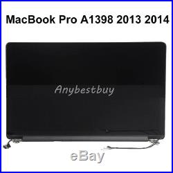 15 For Apple MacBook Pro A1398 Late 2013 Mid 2014 LCD Screen Display Assembly