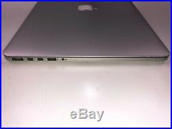 15 MacBook Pro A1398 i7 2.2Ghz Quad 16GB RAM 256GB SSD Mid 2014 Catalina J17-05