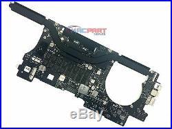 15 MacBook Pro Retina A1398 2.6Ghz i7 16Gb Ram LOGIC BOARD Mid 2012 / DG