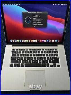 15 Macbook Pro Mid 2015 Retina /2.8 GHz Quad Core i7/16gb RAM/500gb SSD