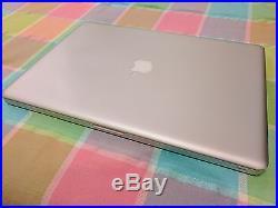17 MacBook Pro Mid 2010 2.8 GHz Core i7 8GB RAM 500GB HDD Antiglare