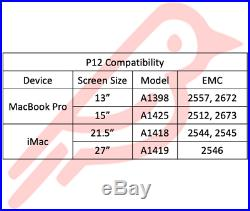 1TB Solid State Drive for Mid 2012 Early 2013 Apple MacBook Pro Retina 13 15