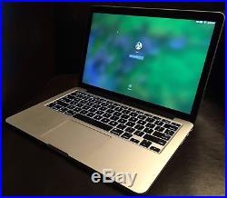 2015 Macbook Pro 13 Retina i7 3.1GHz 16GB ram 128GB ssd applecare to mid 2019