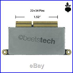 256GB NVMe PCIe 3.0 x4 SSD 5pc Kit MacBook Pro 13 A1708 Late 2016 Mid 2017