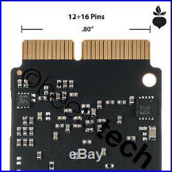 256GB PCIe SSUBX SSD Apple MacBook Pro Retina 13 A1502 15 A1398 Early Mid 2015