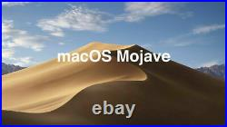 256GB SSD 2.5 for Macbook Pro Mid 2012 ONLY. With Mac OSX Mojave A1278 A1286 A1347