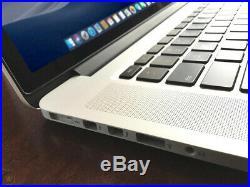 APPLE MACBOOK PRO RETINA 15 CORE i7 3.8GHz Turbo 16GB RAM 512GB SSD OSx-2018