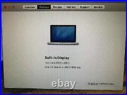 Apple 13 inch Macbook pro Laptop Mid 2012, 2.9 i7,500GB HD WOW