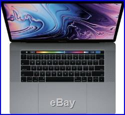 Apple 15.4 MacBook Pro Laptop Core i7-7820HQ 16GB RAM 512GB SSD Mid-2017