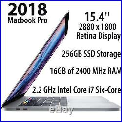 Apple 15.4 MacBook Pro with Touch Bar (Mid 2018, Silver) MR962LL/A Bundle