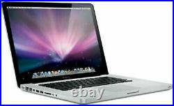 Apple MacBook Pro 13.3 Intel Core 2 Duo 2.40GHz 4GB RAM 500GB HDD Mid 2010 Good