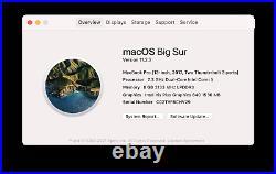 Apple MacBook Pro 13.3 Mid 2017 2.3GHz i5 8GB RAM 256GB SSD Space Gray MPXQ2LL/A