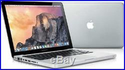 Apple MacBook Pro 13.3 intel Core i5 2.5GHz 8GB RAM 500GB HDD Mid 2012 B+ Grade