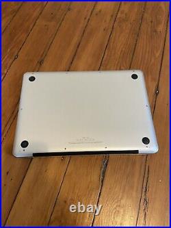 Apple MacBook Pro 13 A1278 2.5GHz Intel Core i5 4GB RAM 500GB HDD Mid 2012 Read