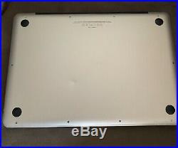 Apple MacBook Pro 13 A1278 2.9GHz Intel Core i7 16GB RAM 750GB HDD Mid 2012