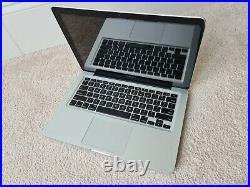 Apple MacBook Pro 13 A1278 Mid 2012 laptop Intel core i5 2.50GHz 250GB Catalina