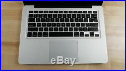 Apple MacBook Pro 13 (Mid 2010) 2.4 GHz Core 2 Duo, 250GB HDD, 4GB RAM