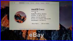 Apple MacBook Pro 13 (Mid 2012) 2.9 GHz Intel core i7 750 HDD 8GB
