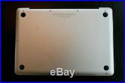 Apple MacBook Pro 13 Mid 2012 Intel Core i7 2.9GHz 16GB RAM 500GB SSD