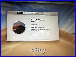 Apple MacBook Pro (13-inch Mid 2012 Unibody) 2.9 GHz Intel core i7 500GB HDD 8GB