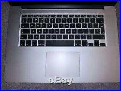 Apple MacBook Pro 15 2.2Ghz i7, 16GB RAM, 256GB SSD Mid 2015 Bundle (Read)