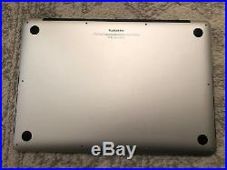 Apple MacBook Pro 15.4 A1398 Mid-2012 i7 2.7 Ghz 16GB RAM For parts No SSD