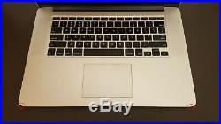 Apple MacBook Pro 15.4 A1398 Mid-2015 i7@2.8 Ghz 16GB RAM 512GB SSD I 12081WK