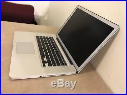 Apple MacBook Pro 15 A1286 Core i7 2.3Ghz 8GB RAM 500GB Hard Drive Mid 2012