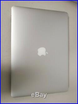 Apple MacBook Pro 15 A1398 i7-4770HQ 2.2GHz 16GB RAM Mid 2015 NO SSD/OS READ! H