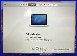 Apple MacBook Pro 15-Inch Retina, i7 2.7, 16GB RAM, 750GB SSD (Mid 2012)