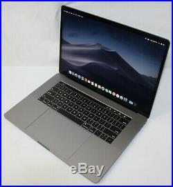 Apple MacBook Pro 15 Laptop 512 GB Core i7 2.6Ghz 16GB Touch Bar Mid-2018 NICE