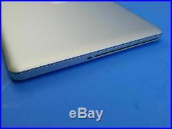 Apple MacBook Pro 15 Mid 2012 Core i7 2.3GHz 8GB RAM 256GB ssd Catalina office