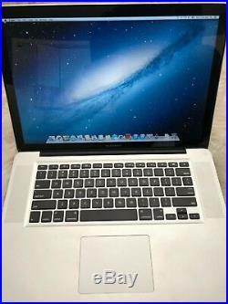Apple MacBook Pro 15 Mid 2012 Core i7 2.7GHz 8GB RAM 500GB SSD