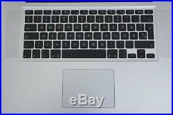 Apple MacBook Pro 15 Mid 2012 Unibody 2.3 GHz i7 500GB HDD 8GB RAM ISO Keyboard
