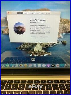 Apple MacBook Pro 15 (Mid 2012) i7 2.3GHz 4GB 500GB Good Condition