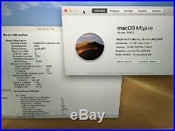 Apple MacBook Pro 15 Mid 2015 2.2GHz intel i7 16gb RAM 256gb SSD A Grade