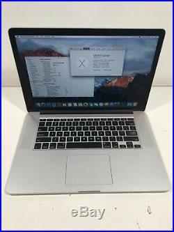 Apple MacBook Pro 15 Mid 2015 2.2GHz intel i7 16gb RAM 256gb SSD B+ Grade