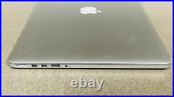 Apple MacBook Pro 15 (Mid 2015) Intel i7-4870HQ 16GB RAM 512GB SSD A1398