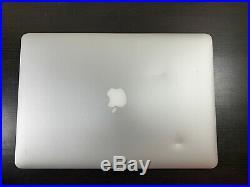 Apple MacBook Pro 15 Retina 2.5GHZ i7 Quad 16GB 250GB Mid 2015 Catalina BTO/CTO