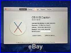 Apple MacBook Pro 15 Retina Display 2.5 GHz 500 GB Flash Storage Mid 2015