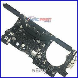 Apple MacBook Pro 15 Retina Mid 2012 Logic Board 2.6Ghz i7 8Gb Ram A1398/ A+
