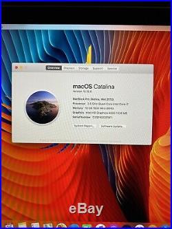 Apple MacBook Pro 15 Retina (Mid 2012) i7 2.6GHz 16GB 256GB (READ)