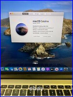 Apple MacBook Pro 15 Retina (Mid 2012) i7 2.6GHz 8GB 512GB Alternate Keyboard