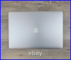 Apple MacBook Pro 15 Retina Quad Core i7 2.80GHz 16GB 512GB SSD Mid 2015