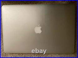 Apple MacBook Pro 15 in Retina Mid-2015 2.5GHz Intel Core i7 500GB SSD 16 MB RAM