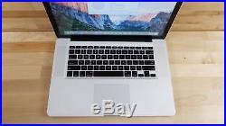 Apple MacBook Pro (15-inch Mid 2010) 2.4 GHz Intel core i5 500GB HDD 8GB RAM