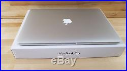 Apple MacBook Pro (15-inch Mid 2012 Retina) 2.3 GHz Intel core i7 256GB SSD 16GB