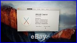 Apple MacBook Pro (15-inch Mid 2014) 2.2 GHz Intel core i7 256GB SSD 16GB RAM